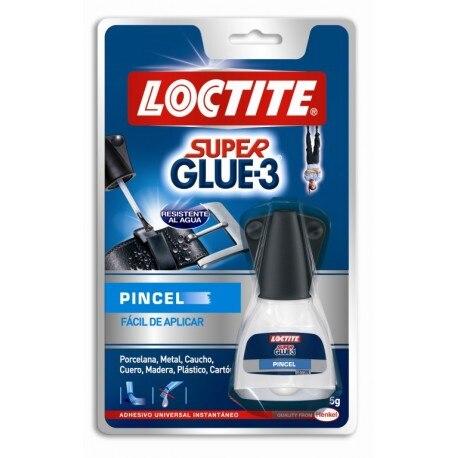 INSTANT GLUE BRUSH 5 GR SUPER GLUE3 Loctite