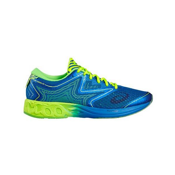 Running Shoes For Adults Asics NOOSA FF Blue Yellow