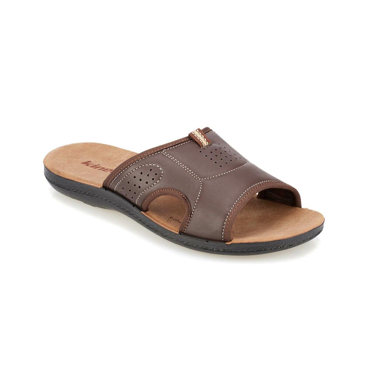 FLO ABSOL marrón hombres zapatillas KINETIX Zapatillas de piel