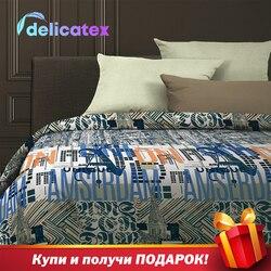 Juego de cama Delicatex 6513-1 + 15860-26Holland textiles para el hogar sábanas cubiertas para cojines de lino funda Nórdica