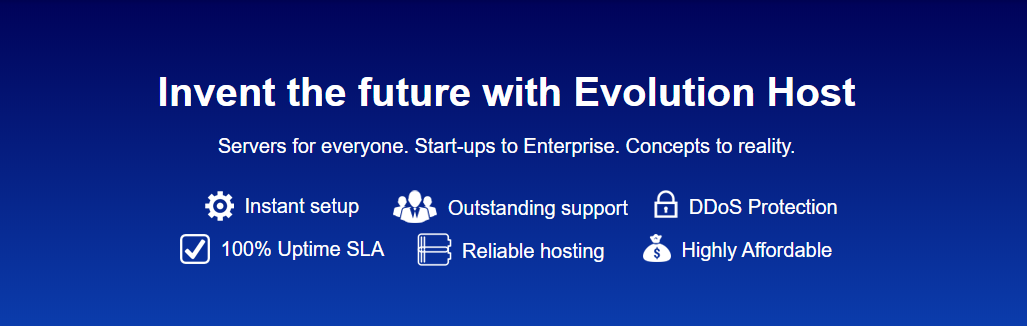 Evolution Host 免费VPS