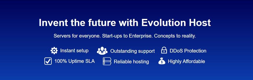 Evolution Host 免费VPS 4个vCPU内核/4GB/Gbps端口/高防DDoS保护