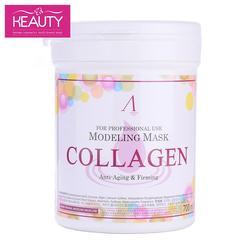 Anskin original-Máscara de colágeno alginato con reafirmante de colágeno (Banco) 240g (700 ml)
