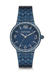 Reloj de pulsera Polo Exchange PX0129-07 para mujer, funda de super metal de 32mm, cristal Mineral resistente al agua de 3 ATM