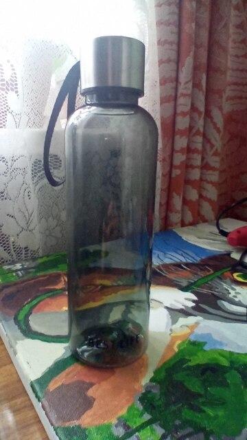 500ml Hot Brief Water Bottle Vogue Woman Men Water Bottle Leak Proof BPA Free Sports Drinking Water Bottle with Carry Strap|Water Bottles|   - AliExpress