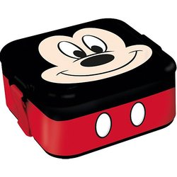 Lunchbox plastic Stor Mickey mouse
