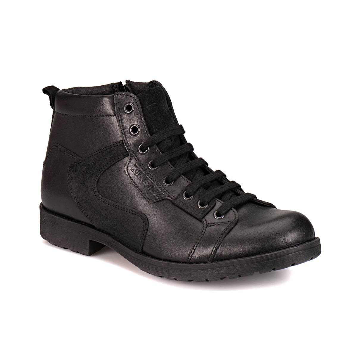 FLO A1305034 Black Men Boots KINETIX