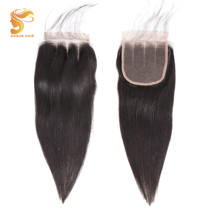 Image 5 - AOSUN HAIR Peruvian Straight Bundles With Closure 3 Bundles Hair With Closure Remy Human Hair Bundles with Closure 8 26Inches
