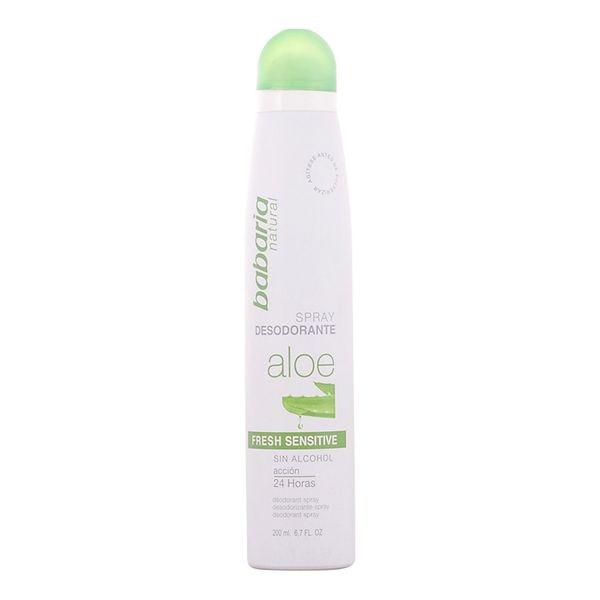 Spray Deodorant Aloe Vera Fresh Sensitive Babaria (200 Ml)