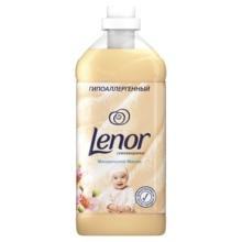 Кондиционер для белья Lenor Концентрат для чувствительной кожи Миндальное масло 57 стирок 2 л