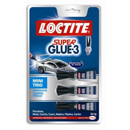 INSTANT GLUE 1 GRAM SUPER GLUE3 3 TUBES Loctite