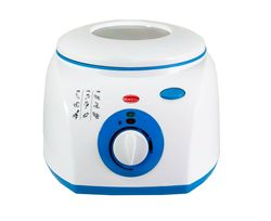 2L electric fryer extractable basket 1300W with window on lid guarantee