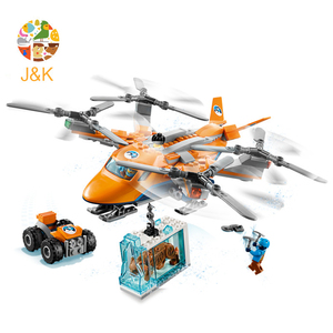 Image 2 - CITY 310pcs Arctic Air Transport Compatible  60193 Model Building Block Toy For Children Birthday Gifts