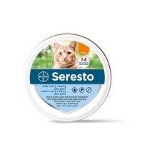 Bayer Seresto 8 месяцев ожерелье кошка Блоха и клещи Предотвращение