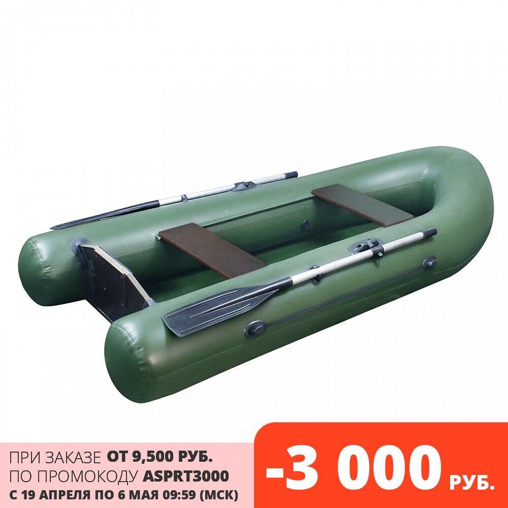 YarBoat 260B, надувная ПВХ лодка моторная, под мотор от 2,5 до 3,5 л.с, под небольшой мотор, плоскодонка, под маленький мотор