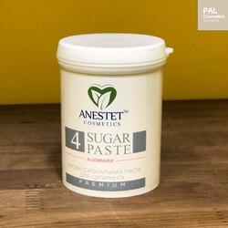 Pasta de azúcar para azúcar, ANESTET denso 4, 330 gr. Depilación, utensilio para eliminar el vello facial, depilación