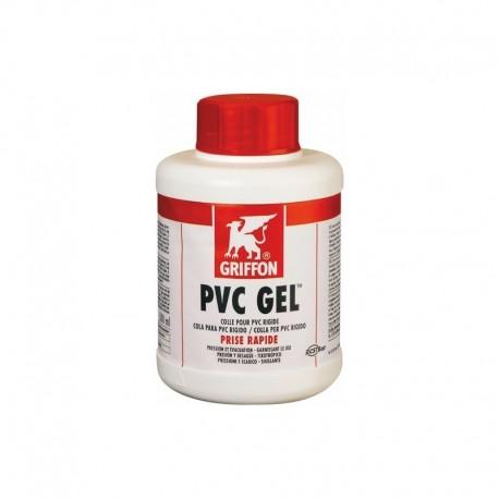ADHESIVE PVC GEL 250 ML WITH BRUSH RAP PVC GEL BOAT GRIFFON