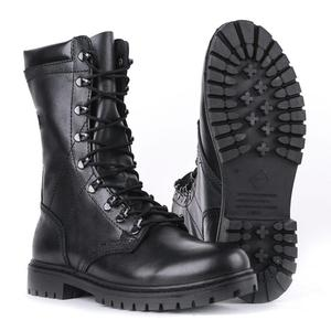demiseason genuine leather ankle boots military flat high shoes lace-up man boots 5003/1 WA