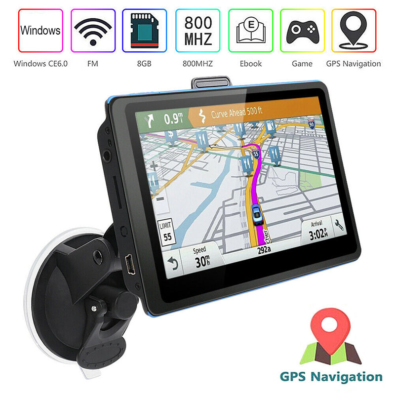 Navigation GPS Europe-Map 5INCH 8GB-ROM 3d-View title=