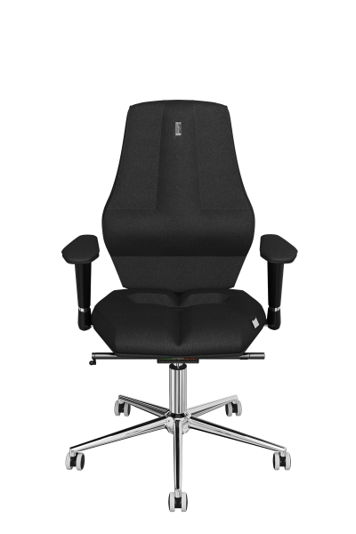 Office Chair KULIK SYSTEM Nano Black Computer Chair Relief And Comfort For The Back 5 Zones Control Spine