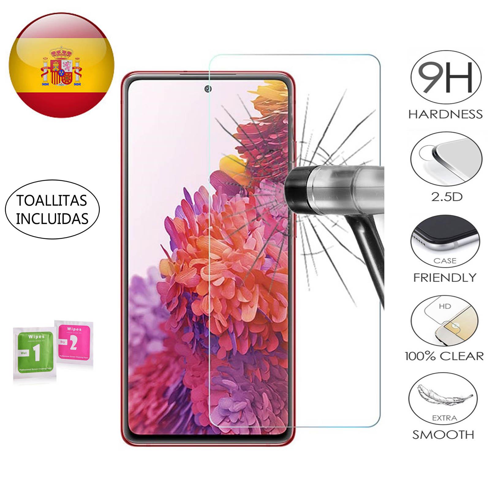 Защита экрана для Samsung Galaxy S20 FE закаленное стекло 9H 2.5D премиум-класса 0,3 мм