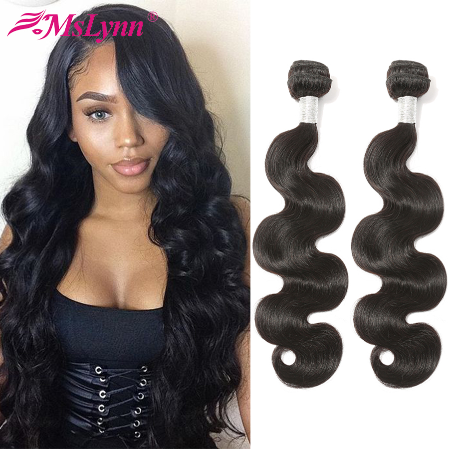 Body Wave Bundles Brazilian Hair Weave Bundles 100% Human Hair Bundles Remy Hair Weave Mslynn Hair 4 Or 3 Bundles Available