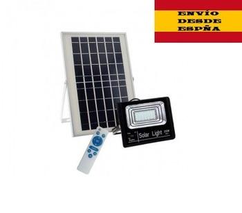 MRELECTRONIC Proyectores LED Lights Spotlights With Placa Solar Frigid 35w 75w 100w White Light 6500K
