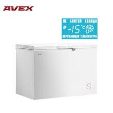 Морозильный ларь AVEX CF-400, обьем 380л, класс А+, 1 корзина, замок, 20кг/сут, сохранение холода 24ч, зимняя защита, индикация повышения температуры