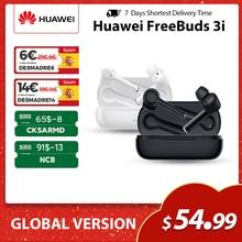 Huawei FreeBuds 3i wersja globalna TWS bezprzewodowe słuchawki Stereo Bluetooth Ultimate redukcja szumów 3-mikrofonowe słuchawki systemowe