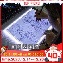 Placas de desenho led a4/a5, prancheta de rastreamento, cópia, prancheta led, desenho, tablet, arte de escrita, mesa, regulável, artes caixa de luz