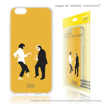 FunnyTech®Stand case for Xiaomi Mi A1 Silicone L Chiquito driveway Pulp fiction