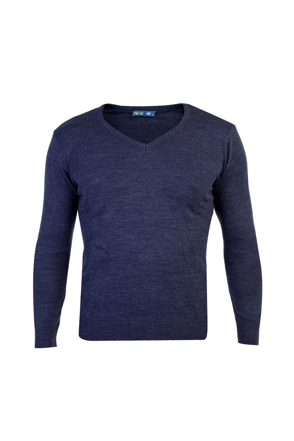 Kigili V-Neck Pullovers Long Sleeve Sweaters V Neck Pullovers Men Autumn Winter High Quality 100% Acrylic Solid Outwear Fit Knitting Clothing