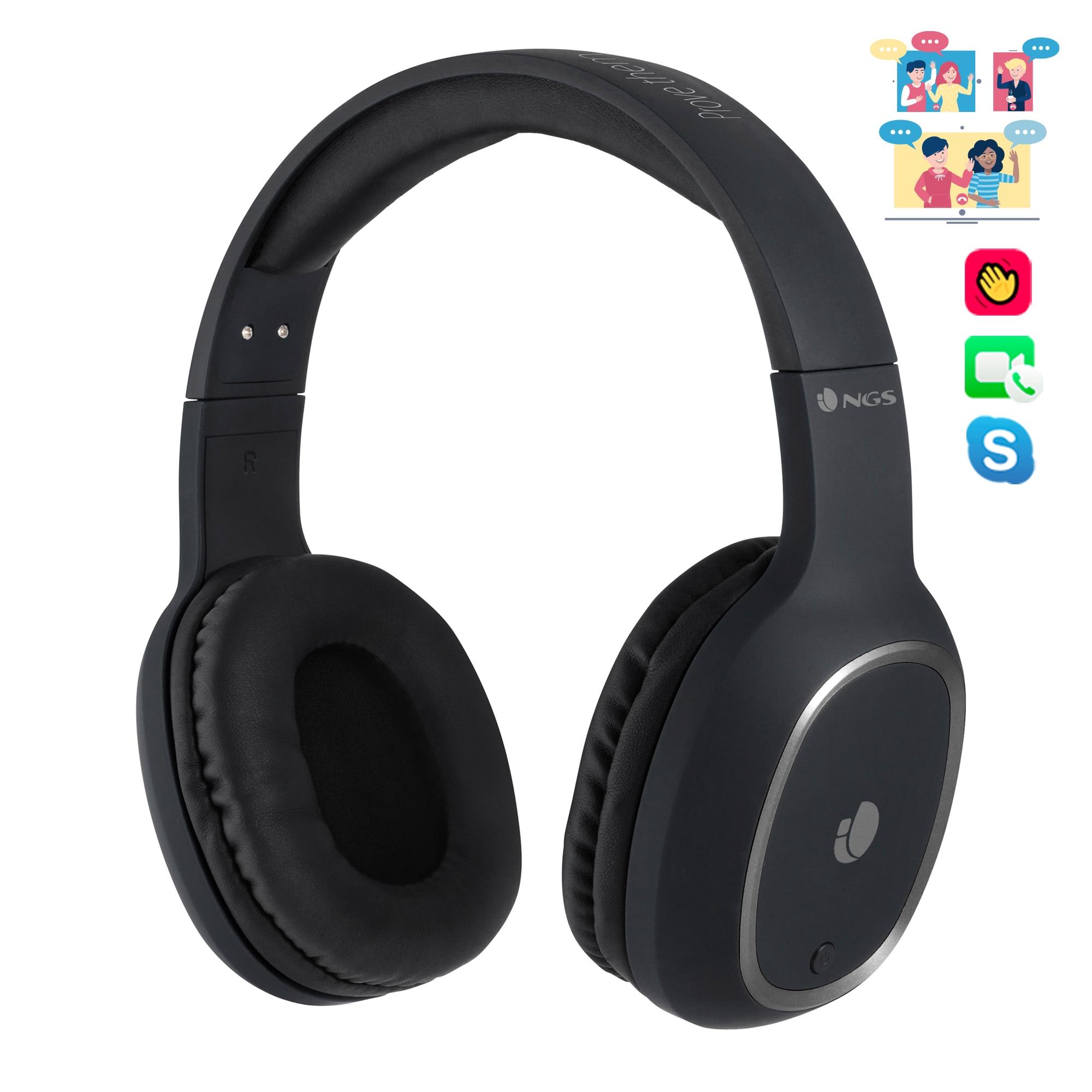 NGS Artica Pride-Headphones Headband, Stereo, Wireless, Bluetooth, Microphone, 7 Hours Autonomy, Manos Free Shipping