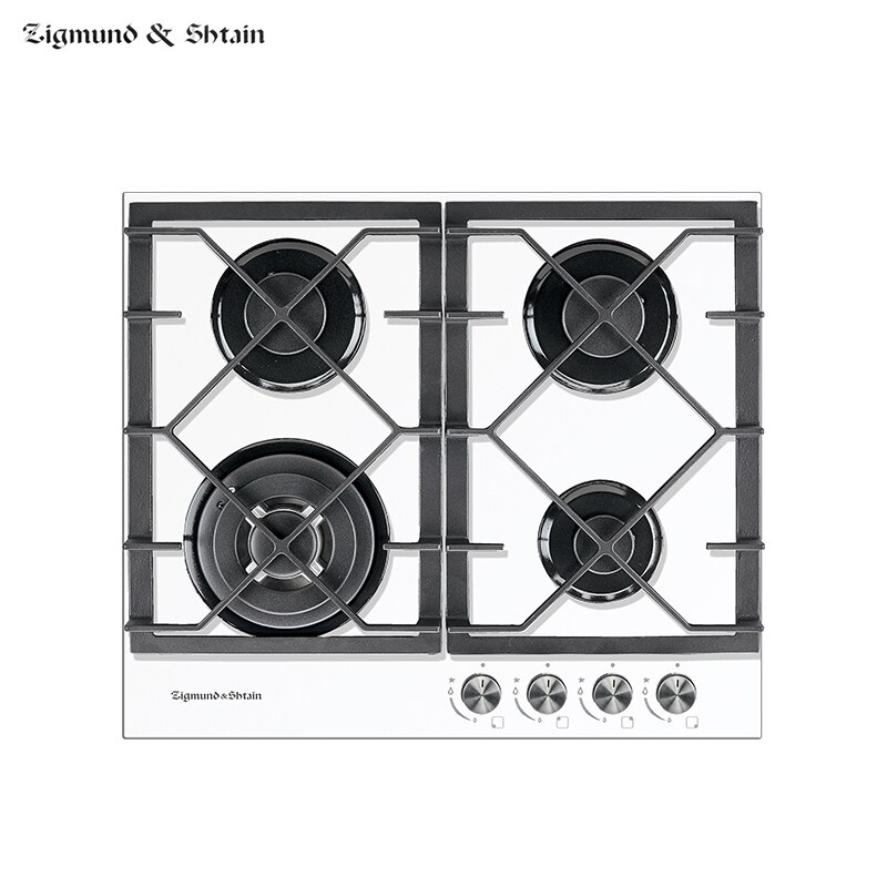 Bulit-in Gas Hobs Zigmund & Shtain MN 175.61 W Home Appliances Major Appliances Cooking Unit Panel Surface Hob Box