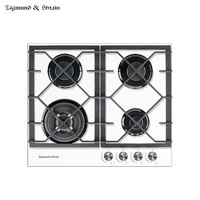 Bulit in Gas Hobs Zigmund & Shtain MN 175.61 W Home Appliances Major Appliances cooking unit panel surface Hob box
