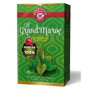 Te Grand Marroc 10 compatible Pompadour capsules Nespresso