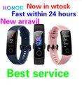 Honor band 5 inteligente pulseira rastreador de fitness monitor de freqüência cardíaca sensor de oxigênio no sangue calorias rastreador sono