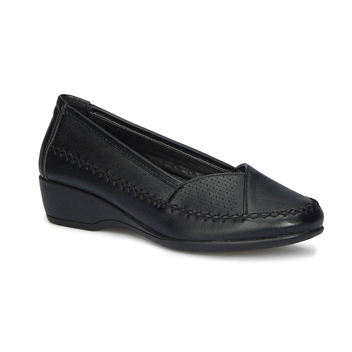 FLO 71.157280.Z Black Women 'S Classic Shoes Polaris