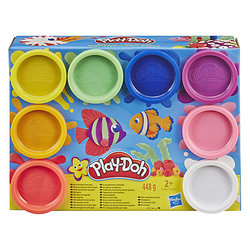 Set of plasticine Play-Doh Rainbow, 8 colors