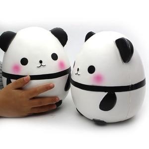 Kawaii Large Panda Egg Slow Ri