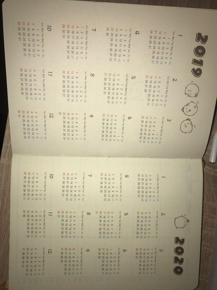 Cadernos bonito sintéticoHomensal semanal