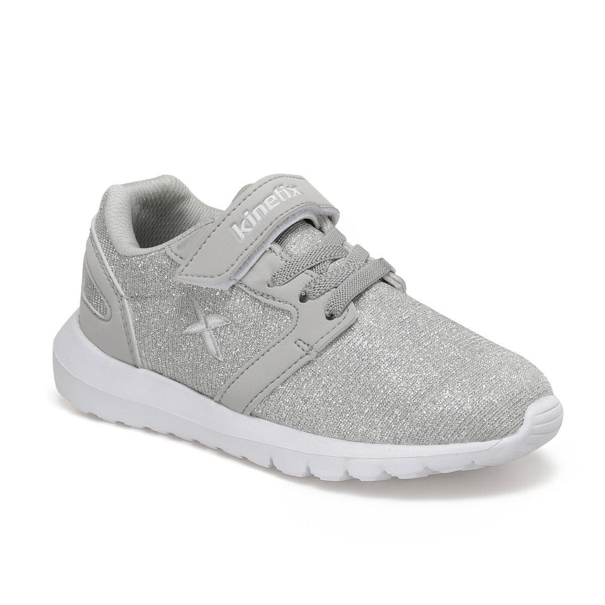 FLO NIHU Silver Female Child Sneaker Shoes KINETIX