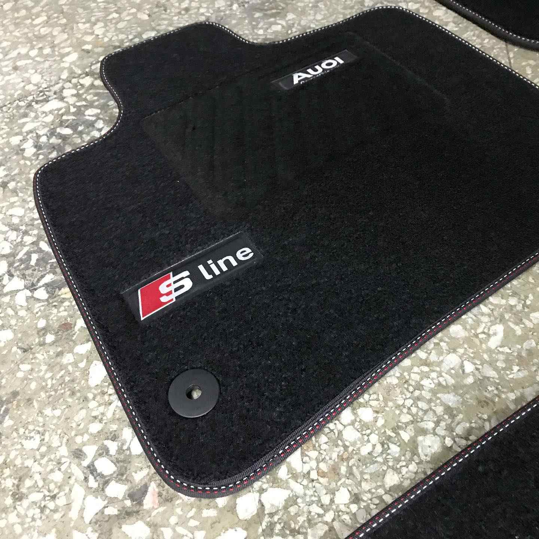 tapis de sol de voiture de luxe fait a la main en turquie pour audi s line a1 a3 a4 a5 a6 a7 a8 q2 q3 q5 q7 q8 tt r8