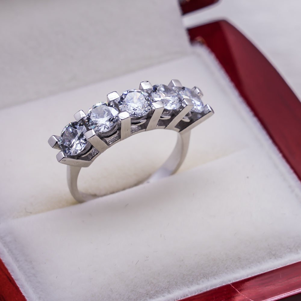 925 sterling Silver Dibs Lady Ring Model 13()