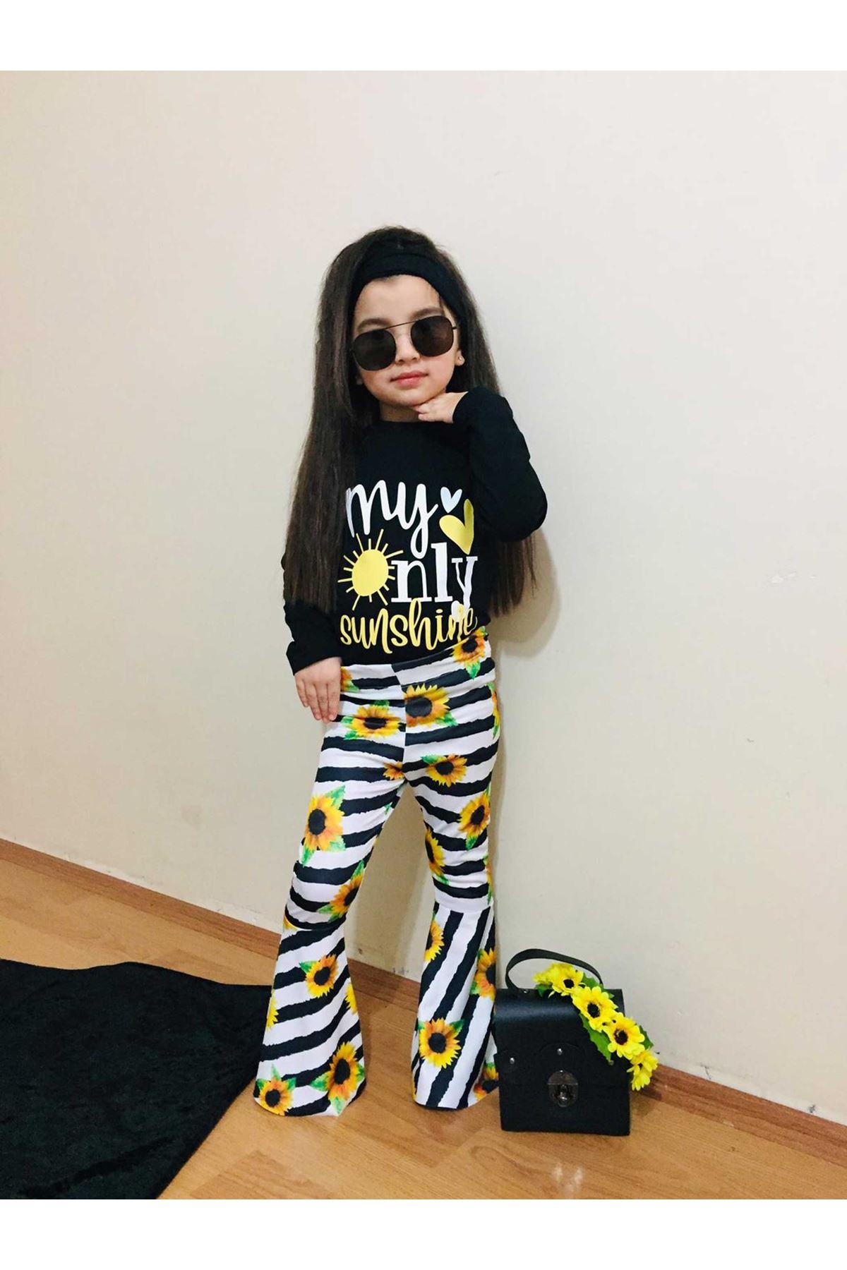 Black Spanish Long Female Child Suit