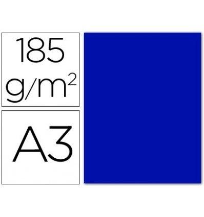 CARDBOARD PIGGY DIN A3 ULTRAMARINE BLUE 185 GR PACKAGE 50 H