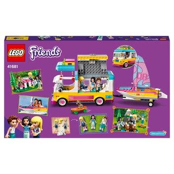 Конструктор LEGO Friends Лесной дом на колесах и парусная лодка 3