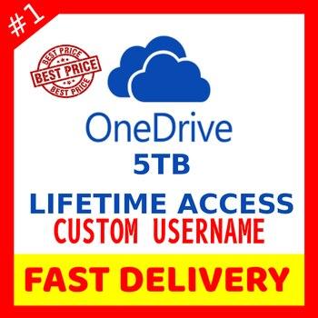 Onedrive 5TB Lifetime Access + Warranty