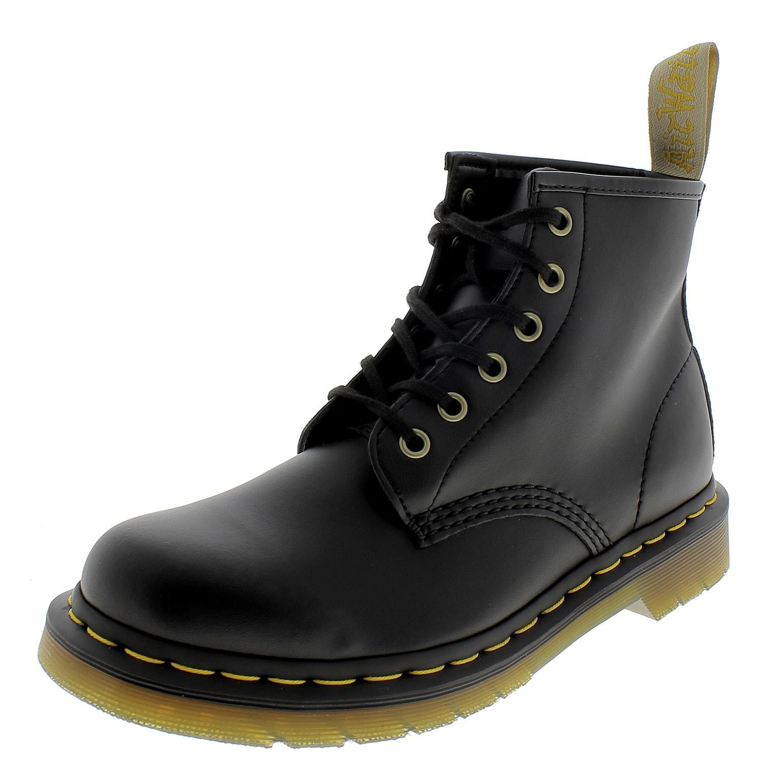 DR. MARTENS VEGAN WOMAN'S BLACK BOOTS 23984001| | AliExpress
