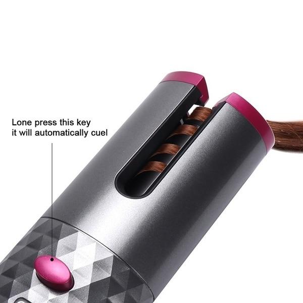 Usb modelador de cabelo recarregável sem fio